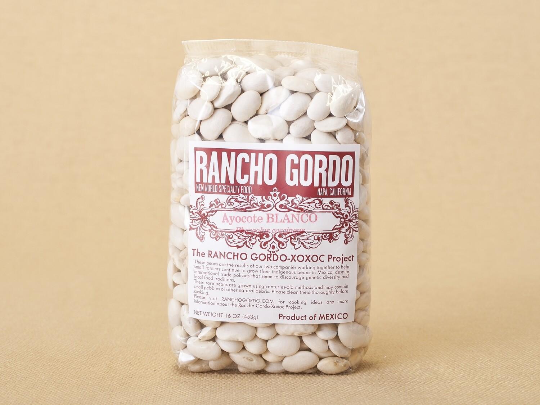 Rancho Gordo Ayocote Blanco Beans