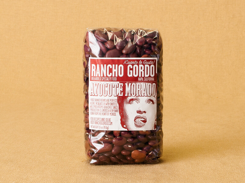 Rancho Gordo Ayocote Morado Beans