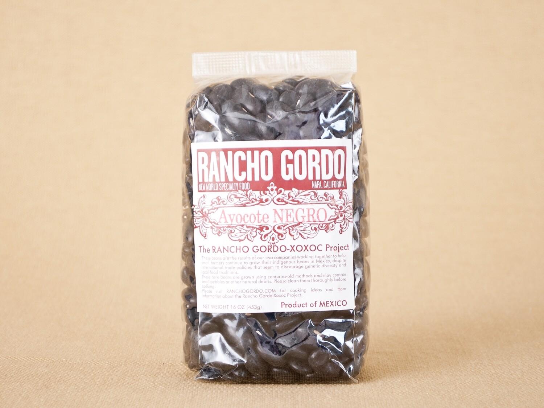 Rancho Gordo Ayocote Negro Beans