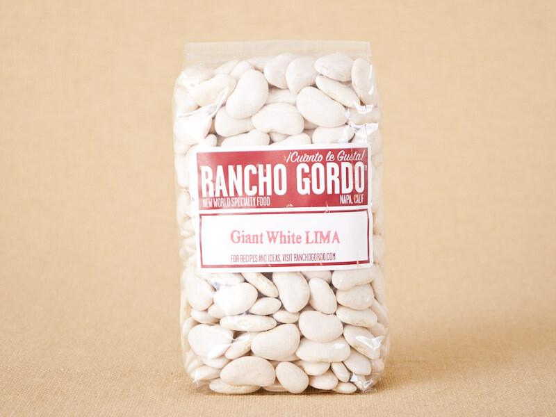 Rancho Gordo Large Lima Beans 16oz