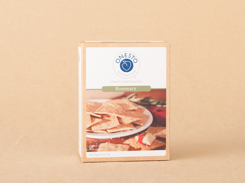 Onesto Rosemary Crackers