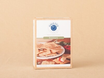 Onesto Rosemary Crackers