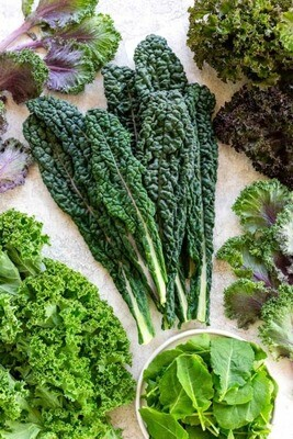 Greens, Kale  - 1/2 Pound