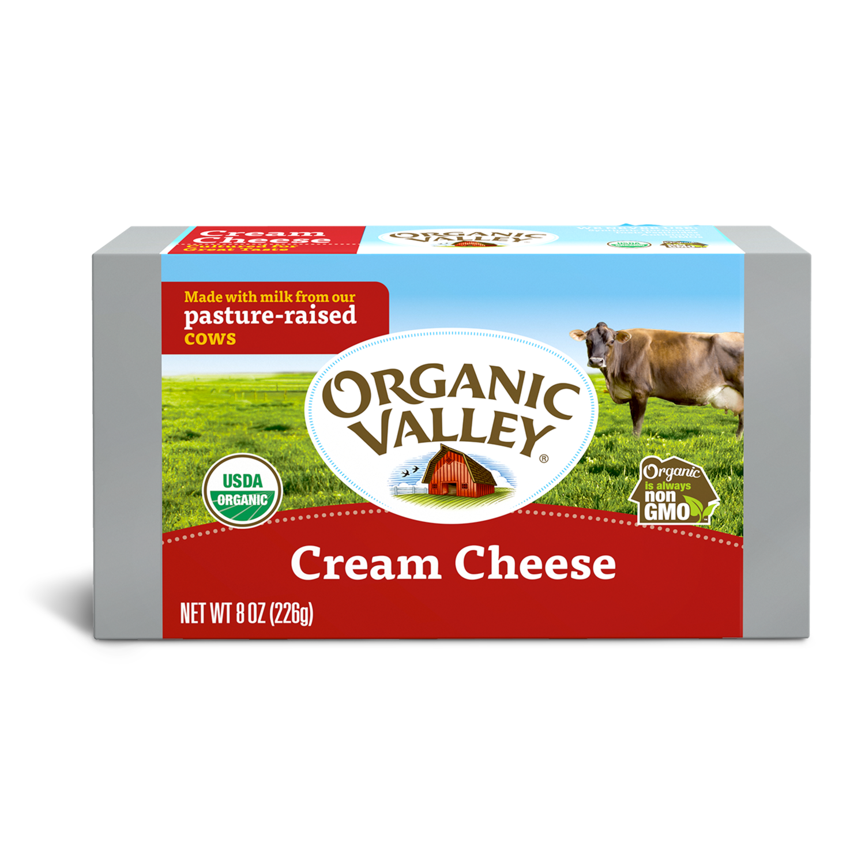 Organic Valley Cream Cheese 8oz