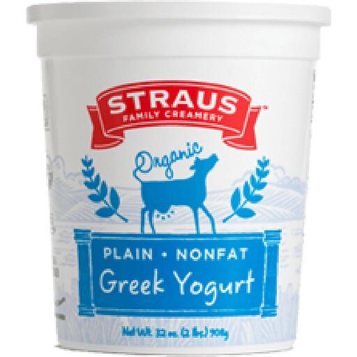 Yogurt, Straus NF ORG 32oz
