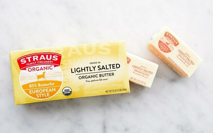 Butter, Straus Salted Org 1lb
