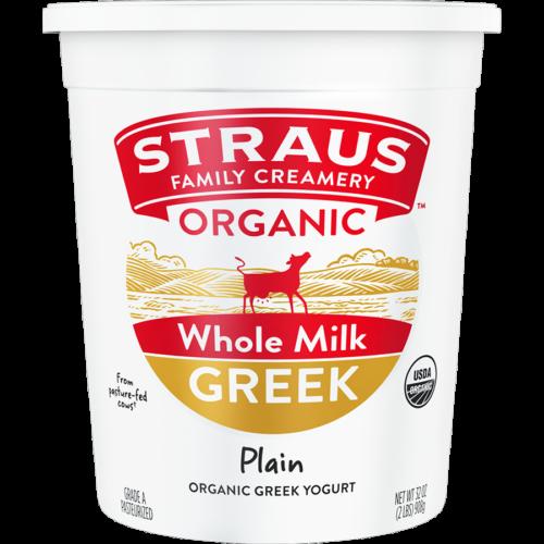 Yogurt, Straus WholeGreek 32oz
