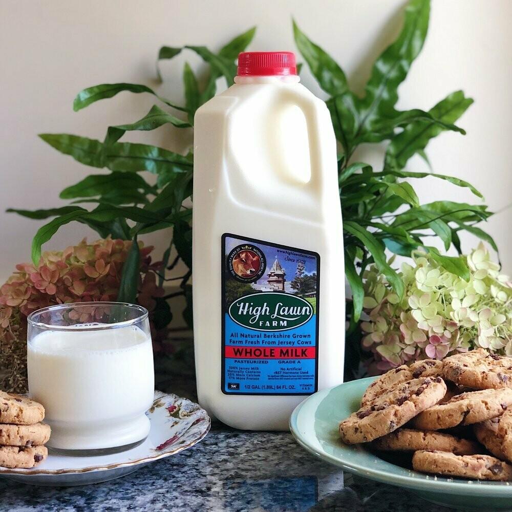 High Lawn Milk Whole Quart