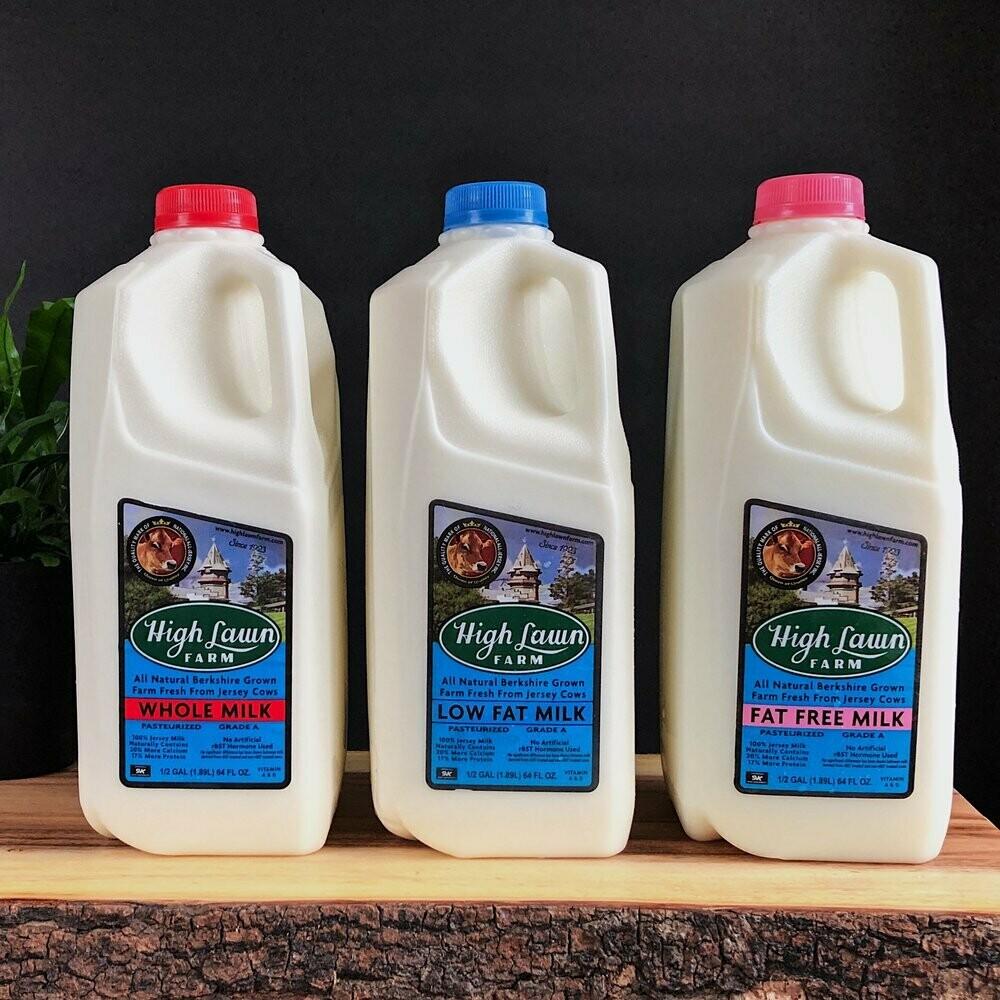 High Lawn Milk Low Fat Quart