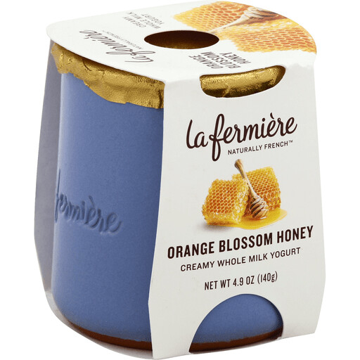 Yogurt, La Fermiere Orange Blossom Honey