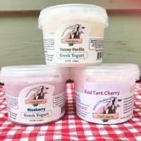 Bedford Blueberry Goat Farm, Goat Yogurt Cherry