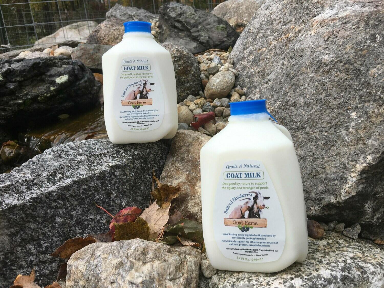 Bedford Blueberry Goat Farm, Goat Milk qt