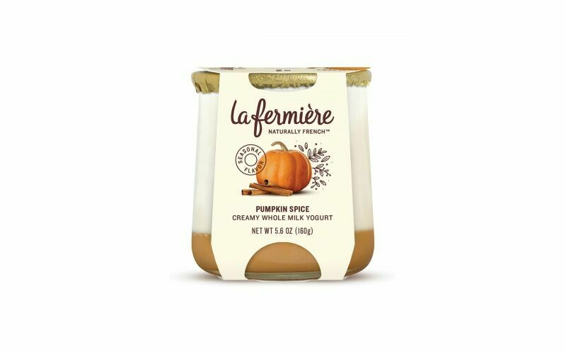 Yogurt, La Fermiere Pumpkin