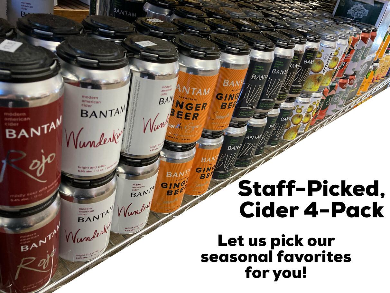 4-Pack Cider, Staff Pick