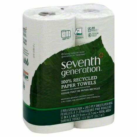 Seventh Generation Paper Towel 2pk