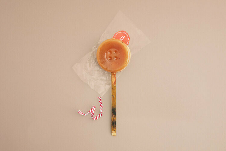 Dinette Salted Butter Caramel Lollipop
