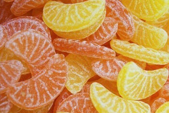 Kubli Orange-Citron Candy 110g