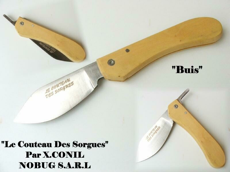 Couteau Sorgues Boxwood Corkscrew