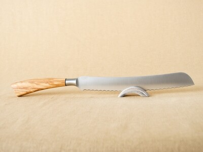 Saladini Bread Knife - Olive