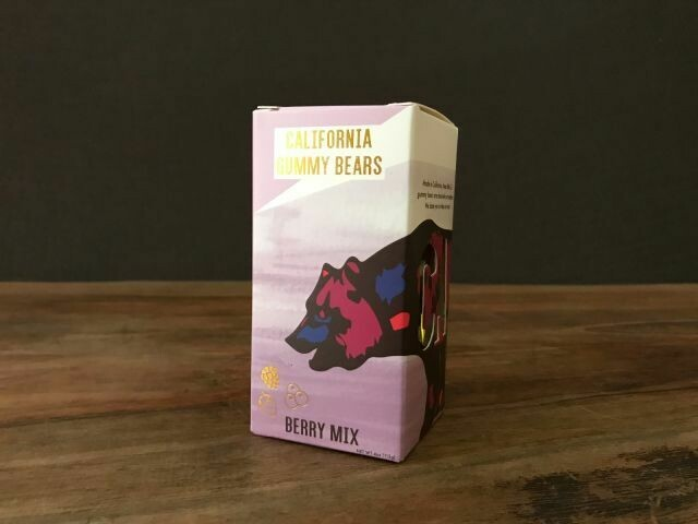 California Gummy Bears Berry Mix