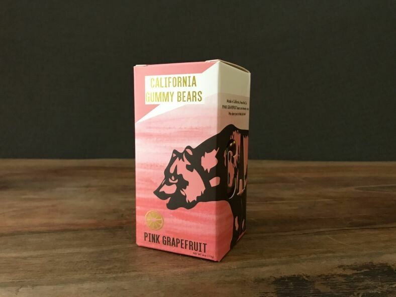 California Gummy Bears Pink Grapefuit