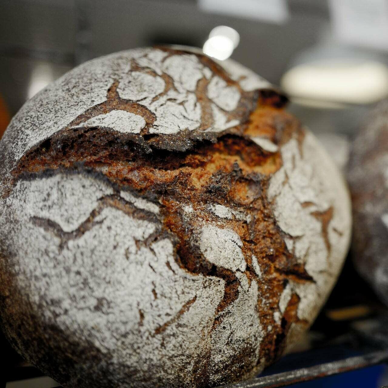 Clear Flour German Rye Loaf