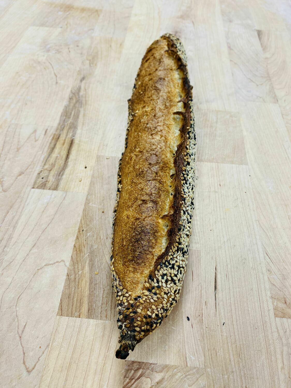 Firedog Baguette, Seeded