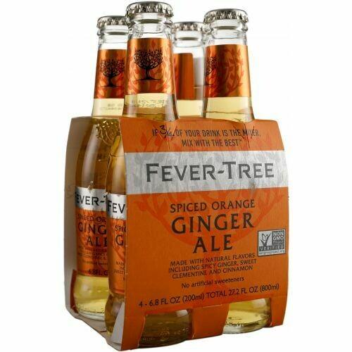 Fever Tree Ginger Ale, 4 pk