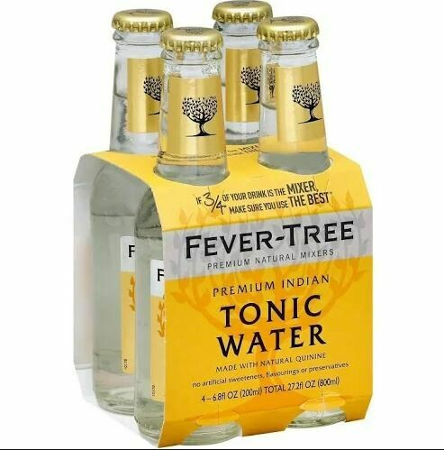 Fever Tree Tonic Water, 4 pk