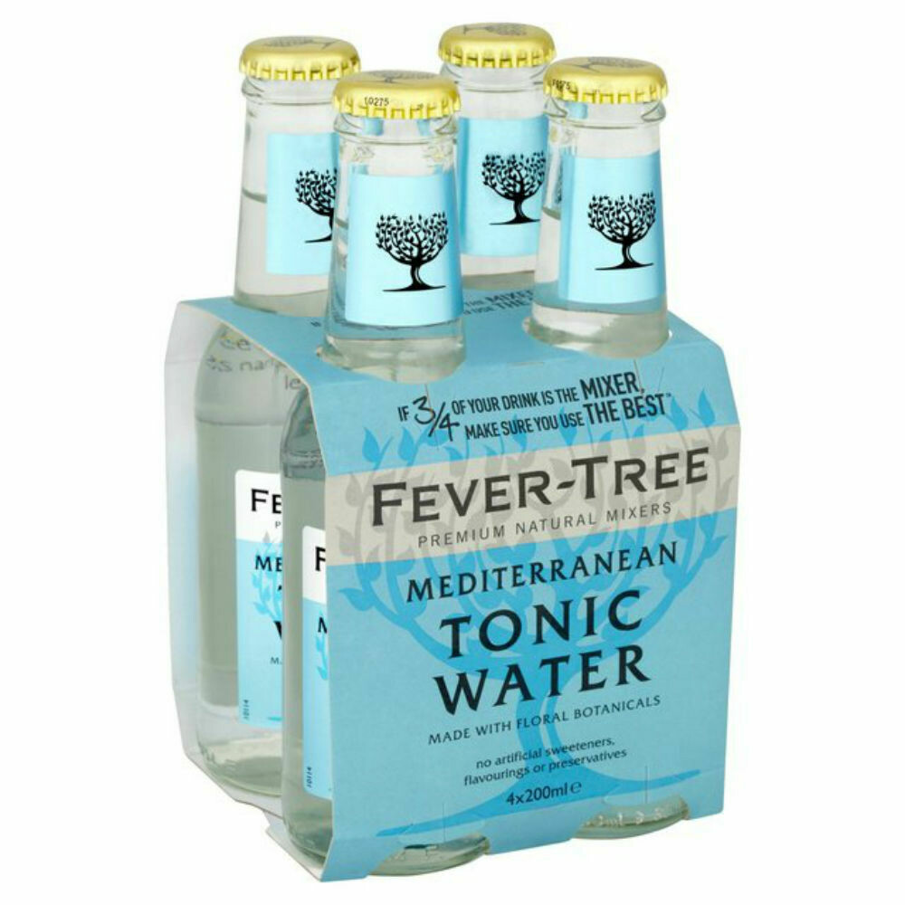 Fever Tree Mediterranean, 4 pk