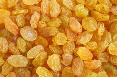 California Golden Raisins  - 1/2 Pound Container