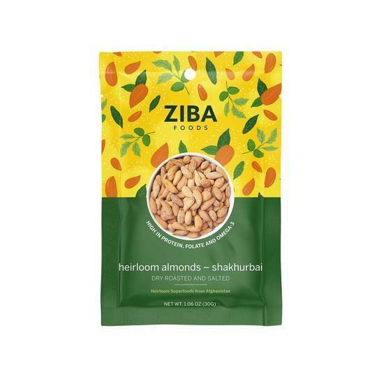 Ziba Roasted Salted Almonds - 30g