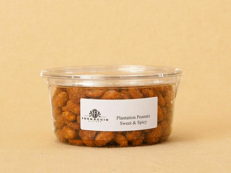 Plantation Sweet & Spicy Peanuts - 8 oz Container