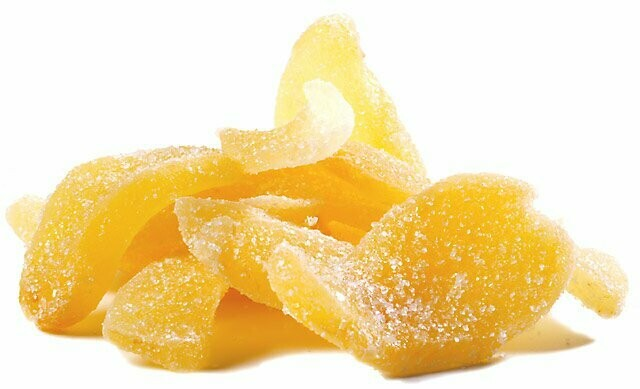 Candied Ginger - 1/2 Pound Container