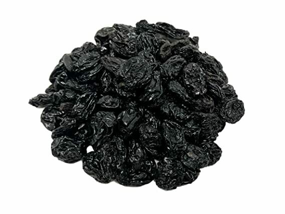 California Black Raisins  - 1/2 Pound Container