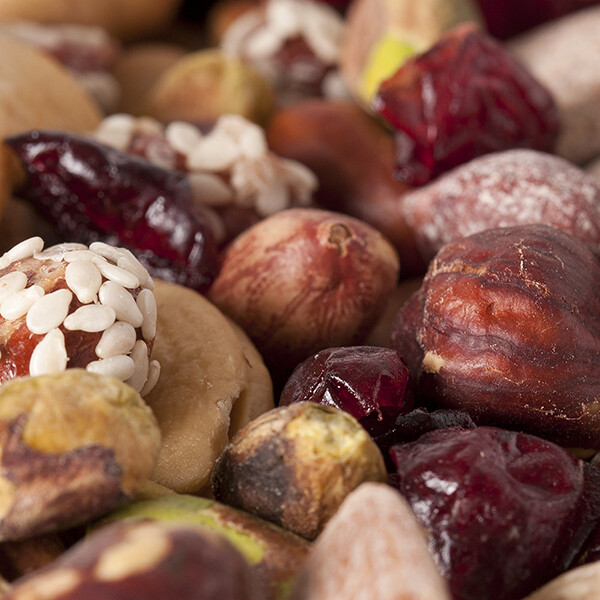Fastachi Mixed Nuts with Cranberries - 8 oz Container