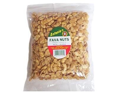Antonio's Roasted & Salted Fava Nuts - 1 Pound Bag