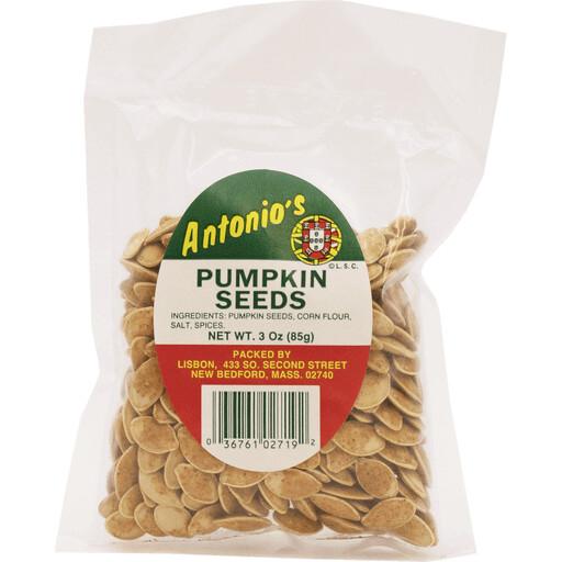 Antonio's Roasted & Salted Pumpkin Seeds - 3 oz Bag