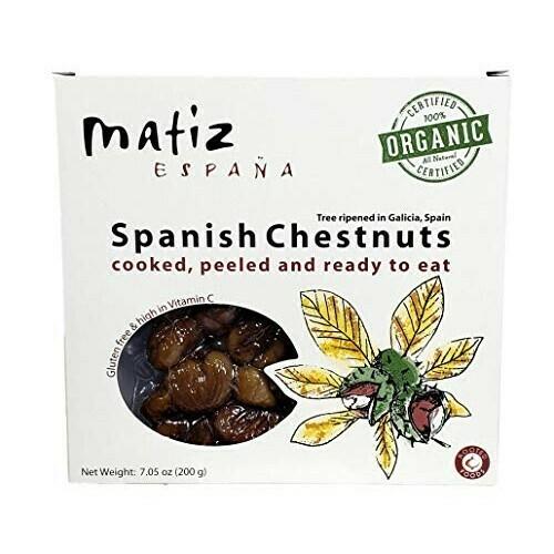 Matiz Organic Cooked & Peeled Chestnuts - 7 oz