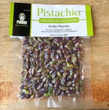 Pariani Whole Sicilian Pistachios - 150g Bag