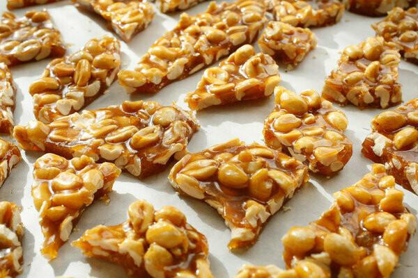 Formaggio Kitchen Peanut Brittle - 1/2 Pound Bag