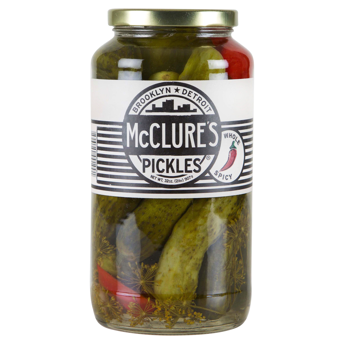 McClure's Spicy Pickles - 32oz