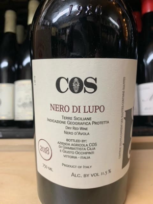 COS Nero Di Lupo '18