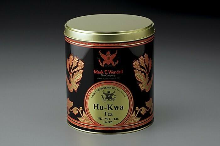 Hu-Kwa Loose Tea Tin - 1lb