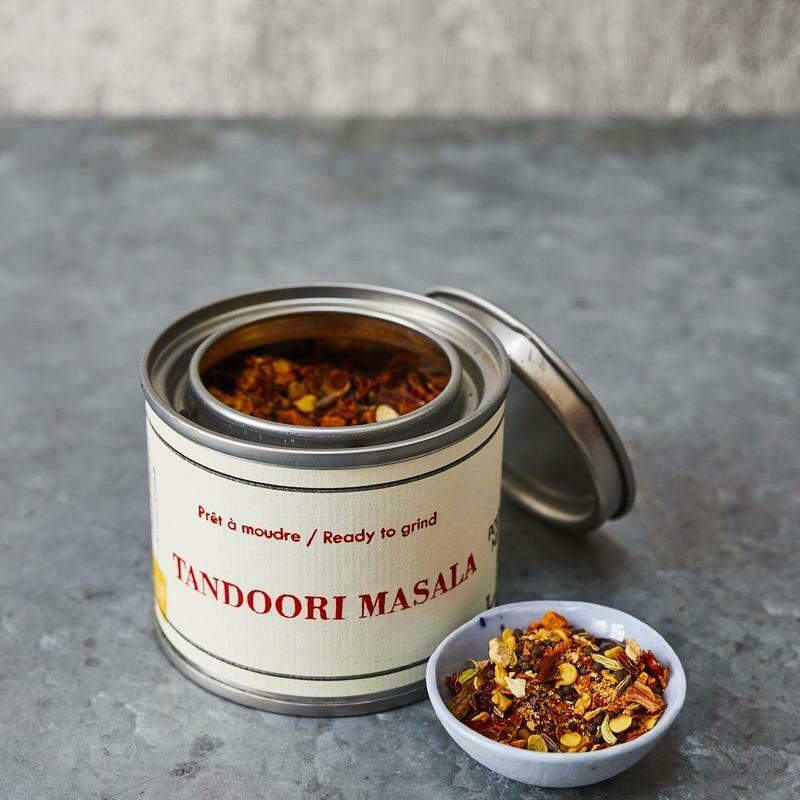 Épices de Cru Masala a Tandoori - 50g Tin