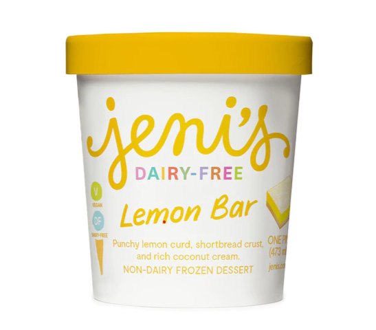 Jeni's Lemon Bar Dairy-Free