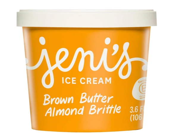 Jeni's Brown Butter Almond Mini