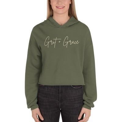 Grit + Grace Crop Hoodie