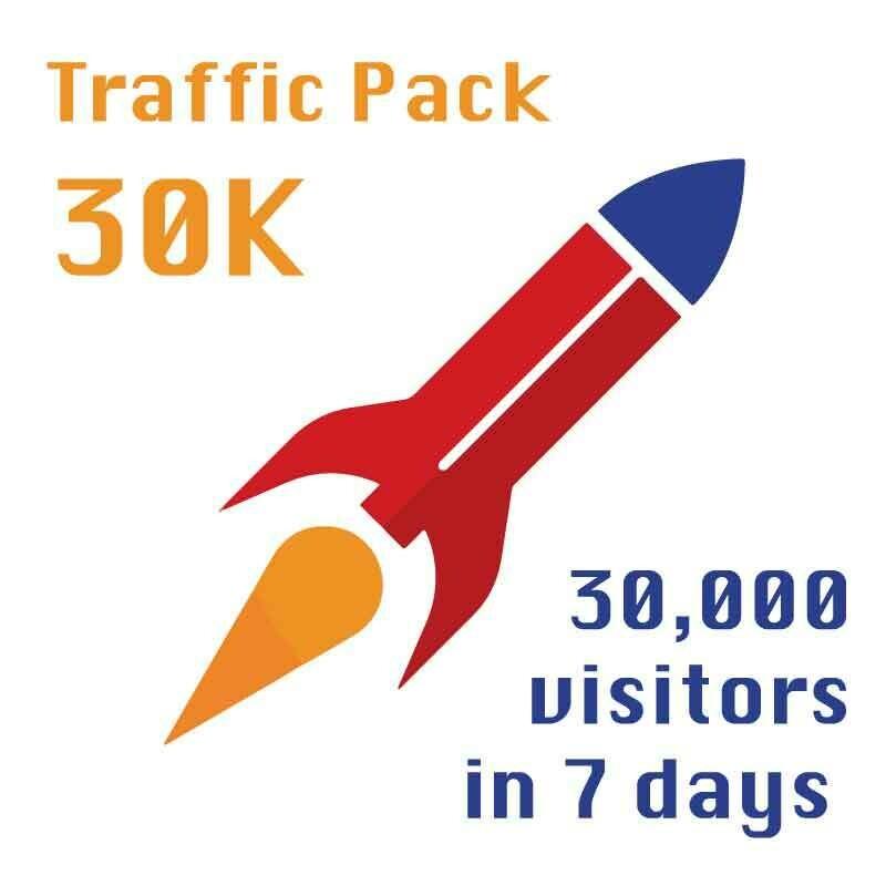 Jeremiah's Traffic Pack - 30k in a week