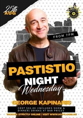 PASTITSIO & KAPINIARIS ONE NIGHT ONLY (NEW DATE)